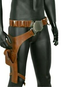 Han Solo Belt Cosplay Costume Prop Holster Gun Strap Replica Leather