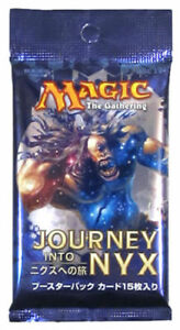 JAPANESE Journey into Nyx Booster Pack, Brand New