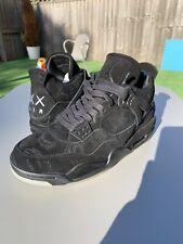 Nike Air Jordan 4 Kaws Friends And Family Look See Sample Uk8 Raptors Bred 3 11