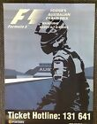 2003 AUSTRALIAN FORMULA ONE GRAND PRIX OFFICIAL POSTER