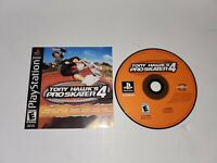 Tony Hawk's Pro Skater 4 (Sony PlayStation 1, 2002)  MANUAL AND DISC ONLY