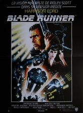 BLADE RUNNER Affiche Cinéma Originale Pliée 53 x 40 cm Movie Poster Ridley Scott