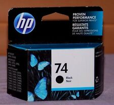 Genuine HP 74 Black CB335WN Ink Cartridge - New Sealed
