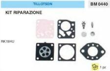 KIT RIPARAZIONE + MEMBRANE membrana CARBURATORE TILLOTSON RK19HU RK 19 HU