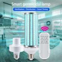 UV Disinfection Light Sanitizer Ultraviolet Bulb Remote Control Timer Germicidal