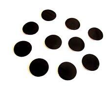 10 Kreise Schwarz  Reflexfolie Reflektorband Reflektor Aufkleber reflektierend