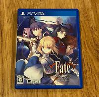 Fate Stay Night Realta Nua JAPAN Ver. PS VITA