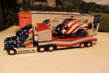 VINTAGE DIECAST- STARS & STRIPES CHOPPER TRUCK - 1/32ND SCALE -BOXED- NEW- A1