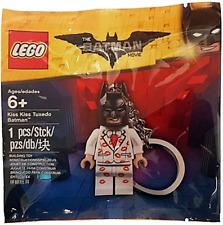 LEGO 5004928 - The LEGO Batman Movie - Kiss Kiss Tuxedo Batman Key Chain