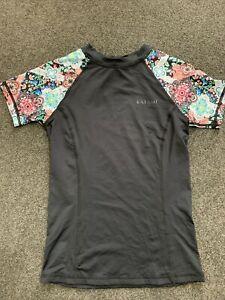KAIAMI GIRLS Wet Shirt Size 12 RASHIE/ RASH VEST NEW with tags SWIMWEAR