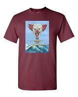 Clown Bomb War Funny Tanya Ramsey Artworks Art DT Adult T-Shirts Tee