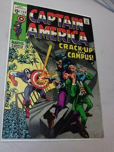 CAPTAIN AMERICA #120 (VGF+) 1969 GENE COLAN ART! MODOK APPEARANCE