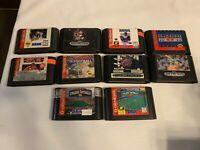Sega Genesis Lot of 10 Tested Games Cartridges Only No Duplicates
