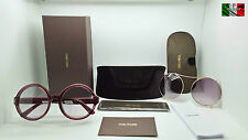 TOM FORD TF369 JULIET color 69A + CLIP ON occhiale sole donna TOP ICON ST65124