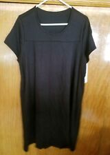 NWT Black Savi Mom Breastfeeding Gown Size Xl