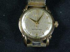 1953 Bulova Automatic Self-Winding Men's Wristwatch Watch Fancy Lugs