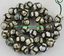 """12mm Fire Agate Faceted Round Gemstone Beads 15.5 """"St07"""
