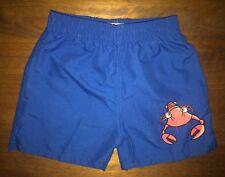Boys Blue Lobster Swim Short Age 5-6