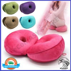 Ergonomic Hip Cushion Posture Corrector Dual Comfort Memory Foam Hip Lift Seat