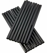 100 Jumbo Cocktail Drinking Straws - Black - 130 MM Long - Party - Weddings