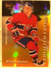 1995-96 Select Certified Future #5 Saku Koivu Montreal Canadians