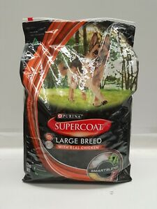 PURINA SUPERCOAT LARGE BREED WITH REAL CHICKEN DRY DOG FOOD ADULT 12KG