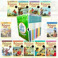 Enid Blyton's Famous Five Collection 11 Books Set Gift Wrapped Slipcase New Pack