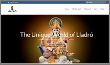 LLADRO FIGURINES Website Business Make $2,800 A SALE INSTANT TRAFFIC SYSTEM