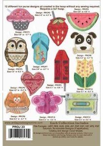 Pocket Purses Anita Goodesign Embroidery Design cd CD ONLY