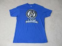 WWE AJ Styles Shirt Adult Large Blue Black I Am Phenomenal WWF Wrestling Mens