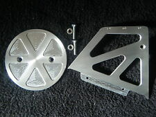 CNC ALUMINIUM ENGINE PULLEY COVER 29T AND PULLEY CASING BUELL S1 LIGHTNING