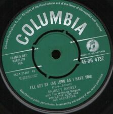"""SHIRLEY BASSEY i'll get by as long as i 7"""" WS EX/ uk DB4737"""