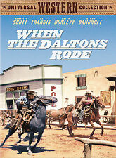 WHEN THE DALTONS RODE - NEW DVD