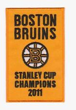 2011 NHL BOSTON BRUINS CHAMPIONS BANNER PATCH