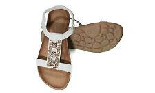 Wide (C, D, W) Elastic Solid Sandals & Flip Flops for Women