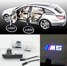 2x M5 logo Laser CREE LED Door Courtesy Shadow Light for BMW E63 E93 M3 M5 M6