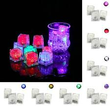 BL_ 3Pcs Flashing LED Ice Cubes Glowing Light Up Party Wedding Drink Worthy