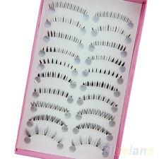 New 10 Pairs Fascinating Different Lower Under Bottom Eye Lashes False Eyelashes