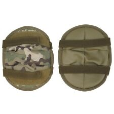NEW - MTP Multicam Padded Knee or Elbow Pads - Set of Two - Adjustable Straps