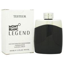 Tester Mont Blanc Legend For Men 3.3 / 3.4oz 100ml Eau de Toilette Spray New