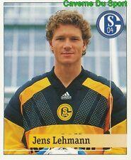 145 JENS LEHMANN GERMANY FC SCHALKE 04 STICKER FUSSBALL 1995 PANINI