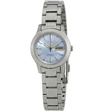 Seiko 5 SYMD89 K1 Silver With Blue Dial Small Women's Automatic Analog Watch