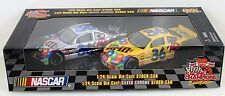 M&M's Nascar Racing Champions Special Edition 1:24 silver chrome Stock Car