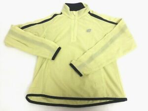 New Balance lightweight mesh Womens Small Yellow running / jogging jacket