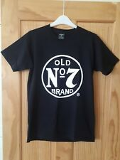 *JACK DANIELS WHISKEY*  - Old NO 7 Brand Mens T-Shirt Tee Size small