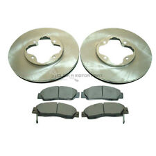 ROVER 600 620 TI TURBO 1993-1999 FRONT 2 BRAKE DISCS AND PADS SET NEW
