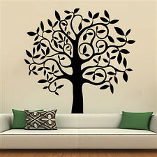 Tree Wall Decals Art Decal Stickers Decal Nursery Bedroom Home Decor Mural MN927