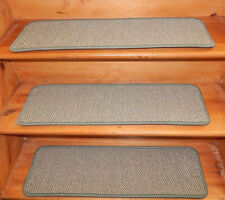 13 = Step 9'' x 30''  Woven Wool Tufted carpet  Stair Treads .