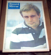 Record Mirror Magazine 1966 The Kinks Manfred Mann Bob Dylan Beatles Searchers