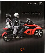 CAN-AM Spyder Roadster Accessoires 2008-09 sales brochure en français